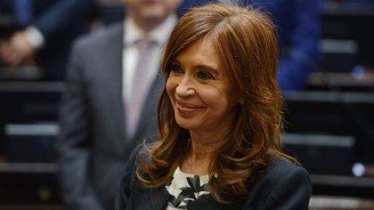 Jura de Cristina Kirchner en el Senado (Fotos: Gabriel Cano / Pablo Grinberg / Charly Diaz Azcue / Comunicacion Senado)