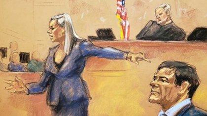 El abogado del Chapo argumentó que la violencia gráfica durante el juicio prejuzgó al jurado.