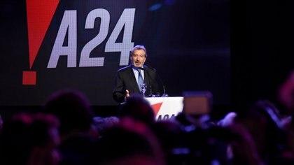 Daniel Vila, presidente del Grupo América, en el lanzamiento de la señal  (Nicolás Stulberg)