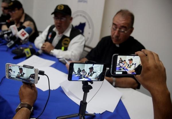 Asociación NicaragüensePro Derechos Humanosen Managua (REUTERS/Jorge Cabrera)