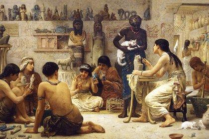 La dispersión de los felinos ganó impulso durante el período clásico, cuando el gato egipcio se extendió por todo el Viejo Mundo