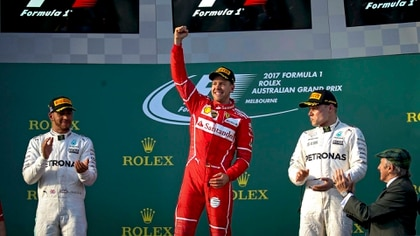 Con Ferrari, Vettel no pudo ganar ningún mundial en la Fórmula 1 -EFE/EPA/DIEGO AZUBEL