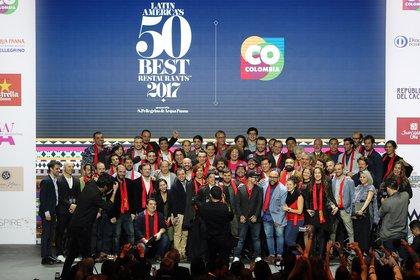Los chefs de los 50 Mejores Restaurantes de Latinoamérica (EFE)
