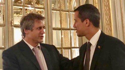 """""""Todo nuestro apoyo """" djo Felipe Miguel a Juan Guaidó (Instagram: @felipemiguelba)"""