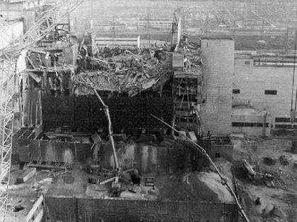 Foto del resultado de la tragedia