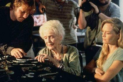 """Gloria Stuart en Titanic, la actriz llamaba al despótico Cameron """"Herr Direktor"""""""