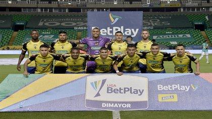 Deportivo Cali arañó empate de local ante Alianza Petrolera, colero de la Liga BetPlay 2021 Crédito Colprensa