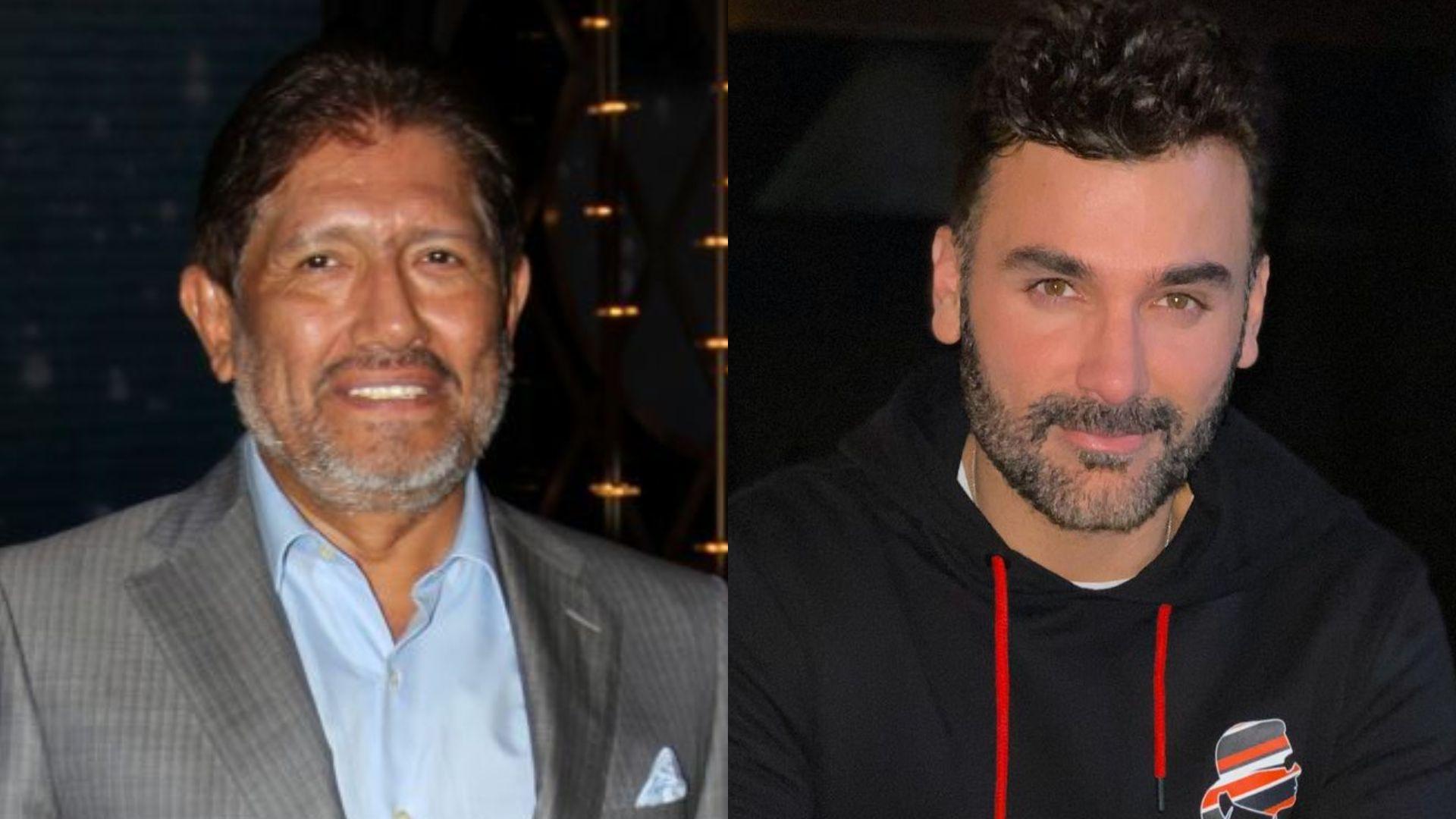 Juan Osorio y Mauricio Mejía (Foto: Cuartoscuro/Instagram@mauricio_mejia)