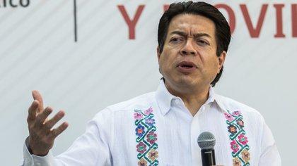 Mario Delgado, dirigente nacional de Morena, respaldó la elección de Félix Salgado como candidato a la gubernatura de Guerrero (Foto: Cuartoscuro)