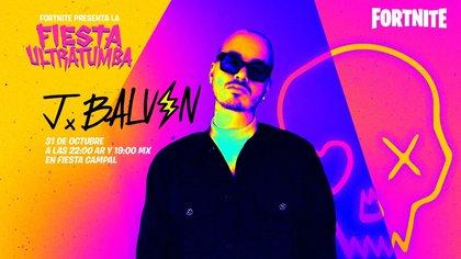 El evento de Halloween tendrá como pico máximo un concierto de J Balvin, uno de los exponentes del reggaeton