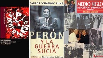 Amorín, Funes y Llambí, tres actores y testigos de aquellos años que nos dejaron su testimonio