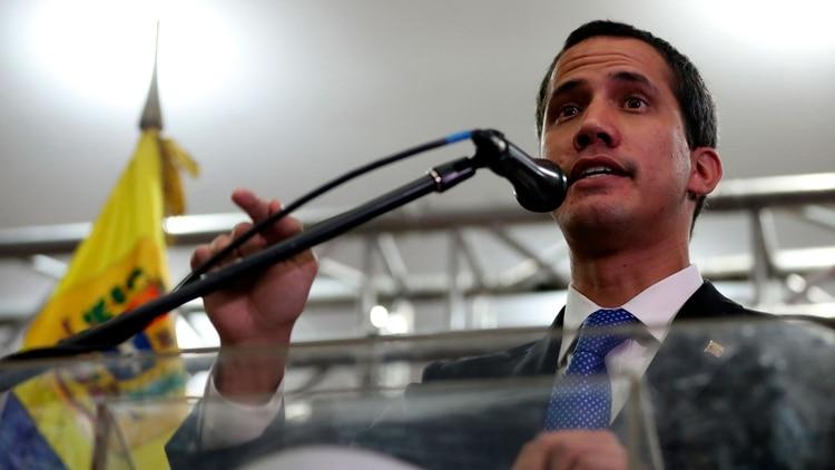 Guaidó adelantó que el próximo lunes habrá una reunión con el Comando Sur de EEUU (EFE)