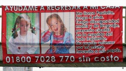 Niña Paulette fue encontrada sin vida nueve días después de su desaparición (Foto: Captura de pantalla/YouTube@Paulettee)