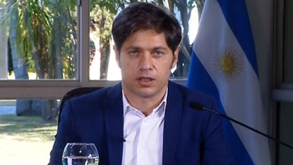 Buenos Aires Governor Axel Kicillof