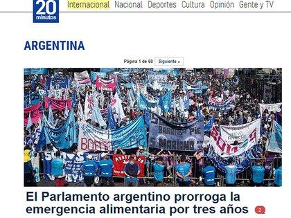 20 minutos, diario español