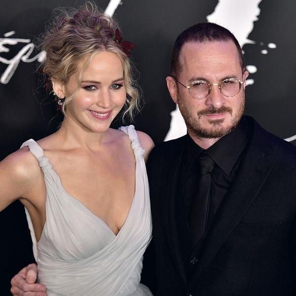 Jennifer Lawrence y su ex novio, el director Darren Aronofsky