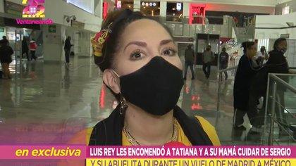 Tatiana asegura que madre de Luis Miguel murió