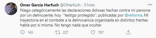 Omar García Harfuch, secretario de Seguridad Ciudadana de la Ciudad de México (Foto: Twitter@OHarfuch)