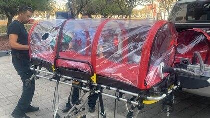 El gobierno de Querétaro adquirió 12 cápsulas. (Foto: @SSalud_Qro)