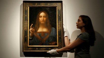 Salvator Mundi, de Leonardo da Vinci (Reuters)