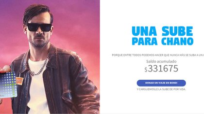 """""""Una SUBE para Chano"""": la campaña para que el cantante deje de conducir"""