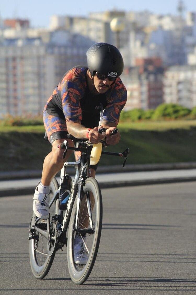En Triatlón de Mar del Plata en el circuito de ciclisimo