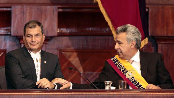 Rafael Correa vs Lenín Moreno: comenzó la guerra entre el ex presidente y su sucesor