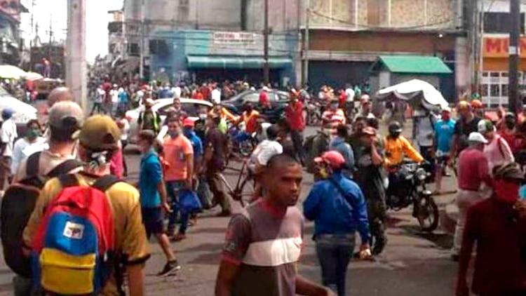 Protestas en Monagas (@jguaido)