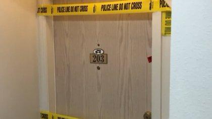 La puerta detrás de la cual se escondía la misteriosa historia en Utah
