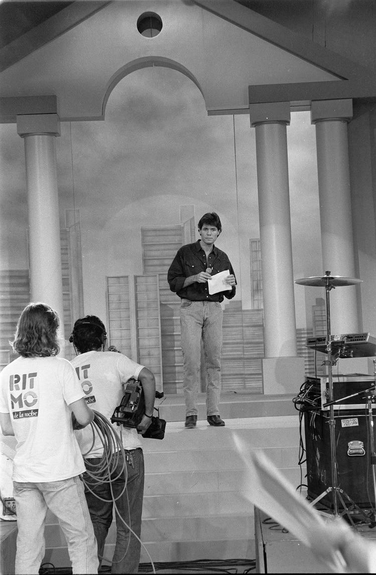"""La primera emisión de """"Ritmo de la Noche"""", en marzo de 1993"""