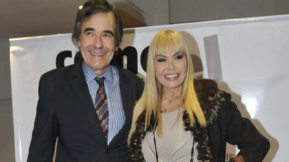 Adriana y su ex marido, Ricardo García, dieron COVID-19 positivo