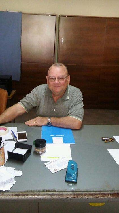 Raúl Berardo, el único vecino de Estación Luxardo que nació en el pueblo y todavía vive allí