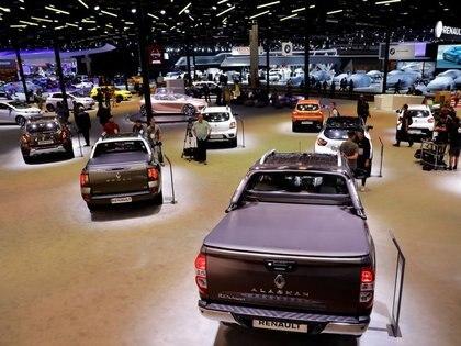 Foto de archivo de vehículos en el Salón Internacional del Automóvil en Sao Paulo, Brasil.  Nov 7, 2018.   REUTERS/Paulo Whitaker