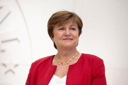 La directora gerente del Fondo Monetario Internacional (FMI), Kristalina Georgieva (EFE/Michael Reynolds/Archivo)