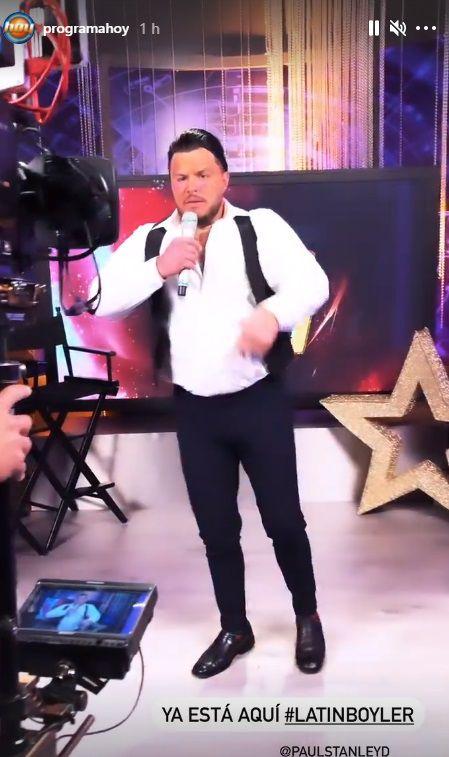"""""""Latin Boiler"""" fue uno de los jueces del show """"Es lo que hay"""". (Foto: @programa_hoy/Instagram)"""