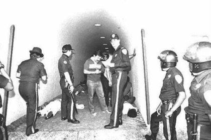 """En 1985, el Estadio Olímpico Universitario sufrió la """"tragedia del túnel 29"""", durante un América vs Pumas (Foto: Twitter/@History_LigaMX)"""