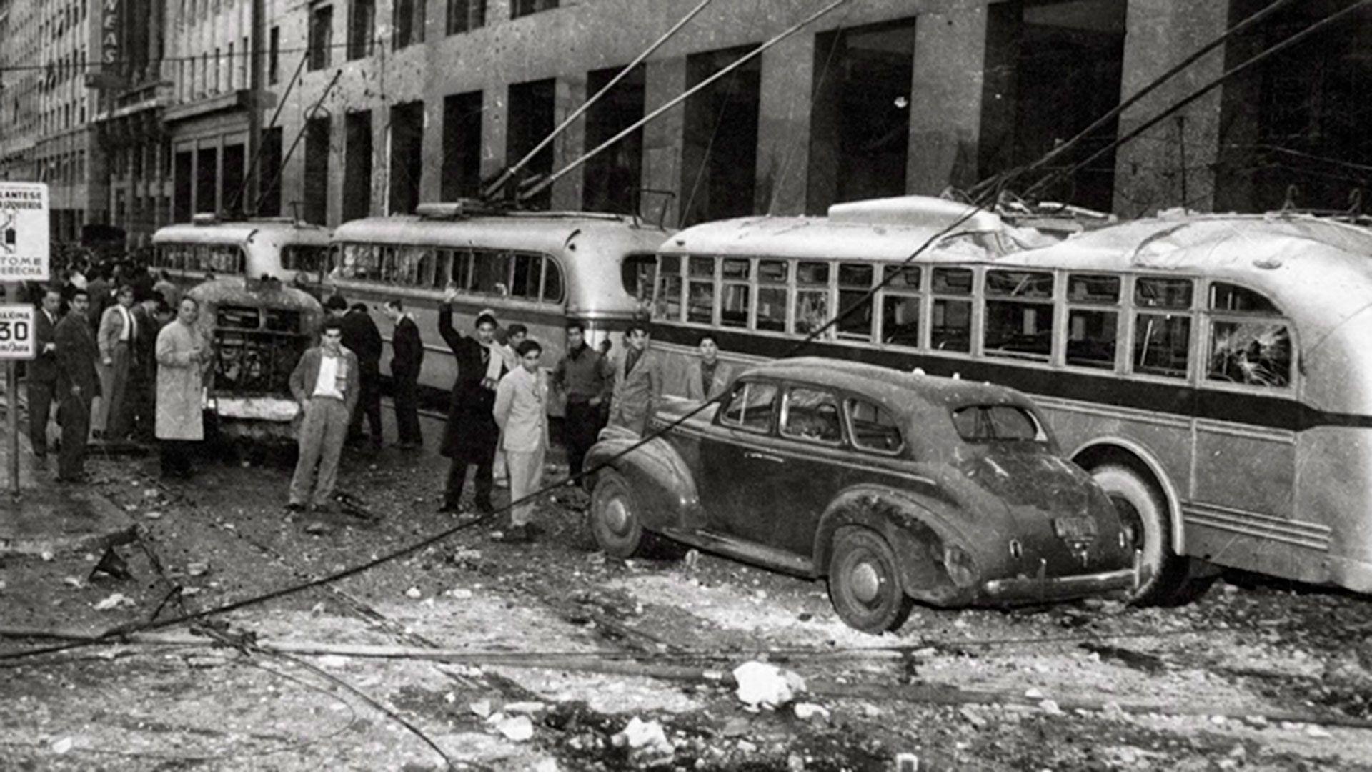 Bombardeos a Plaza de Mayo