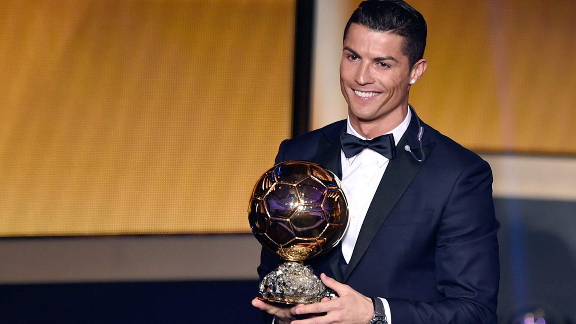 CR7, el día en el que ganó el último Balón de Oro (AFP)