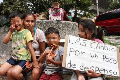 Según cifras de la UnIcef, en nuestro país el 50% de los niños y adolescentes viven en pobreza y advierten que este porcentaje podría aumentar debido a la crisis por COVID-19 (Foto: Cuartoscuro/Archivo)