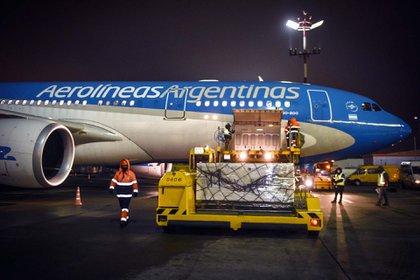 El vuelo partió rumbo a Moscú a primera hora de la madrugada de este jueves (NA)