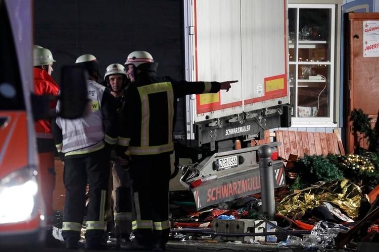 Bomberos alemanes (Reuters/Archivo)