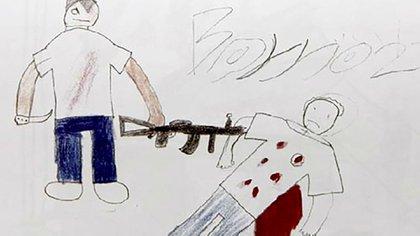 """En 12 años de violencia, al menos 11.000 niños, niñas y adolescentes han sido asesinados en México (Del libro """"El México que yo vivo"""", elaborado por niños de Michoacán y editado por la CEDH)"""