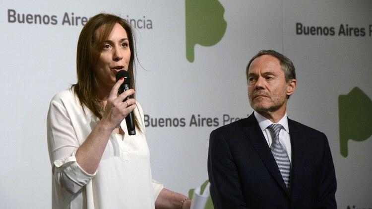 La gobernadora María Eugenia Vidal y el ministro Gustavo Ferrari recorrerán esta mañana el nuevo penal (Télam)