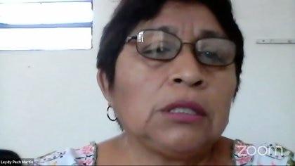 """La ganadora del premio Goldman de Medioambiente 2020, Leydy Pech, declaró que los territorios donde se realizan proyectos con intereses de la agroindustria y del extractivismo son """"muy grandes"""", además de que violentan los derechos sociales y económicos (Foto: Facebook/@cemda.ac)"""