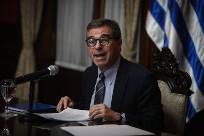 El canciller de Uruguay, Ernesto Talvi, celebró la decisión de la UE (EFE/ Federico Anfitti)