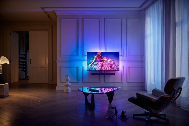 Philips renovó su línea de televisores en la feria de Berlín.