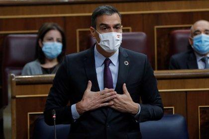 El presidente del Gobierno español, Pedro Sánchez (EFE/ Emilio Naranjo)