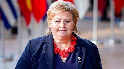 Erna Solberg (Mandatory Credit: Photo by Isopix/Shutterstock)