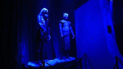 En la experiencia, los fans se encontrarán con los White Walker, el trono y los vestuarios junto con las armas