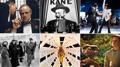 """""""Citizen Kane"""", """"ET"""", """"2001: Odisea del espacio"""", La lista de Schindler"""", y """"Tiempos violentos"""", figuran en el top ten del listado de la revista especializada The Hollywood Reporter"""
